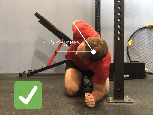 A Passing Thoracic Mobility Assessment.
