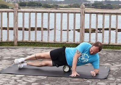 Foam Roll Lateral Hip